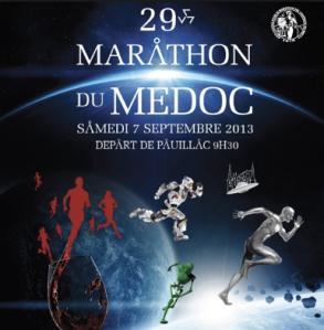 marathon du medoc poster