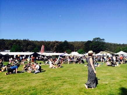 heathcote wine festival sunny day