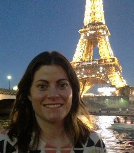 Me in Paris! Oh how I want to go back!